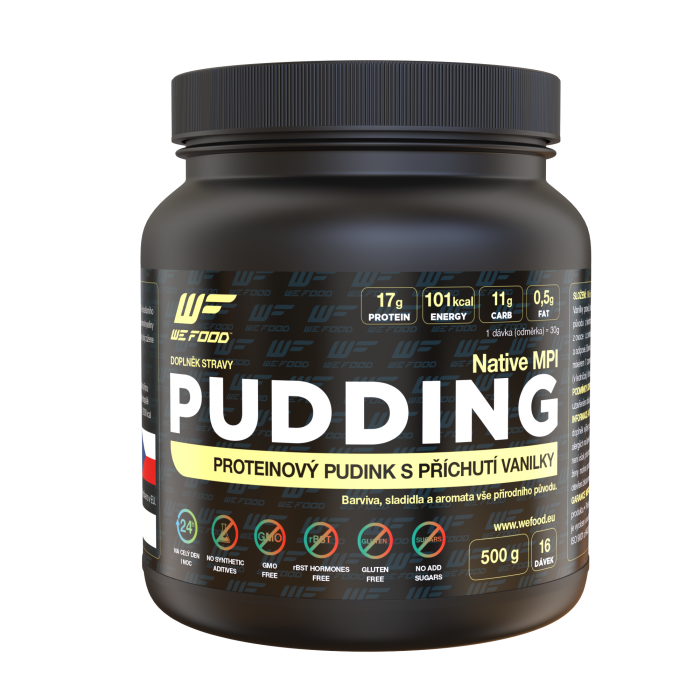 100% NATIVE PUDDING 500G